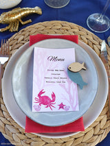 Shrimp Boil Nautical Printable Party Menu | BirdsParty.com