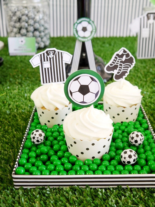 Soccer Birthday Soccer Theme Party Soccer Party Supplies Soccer Shirt