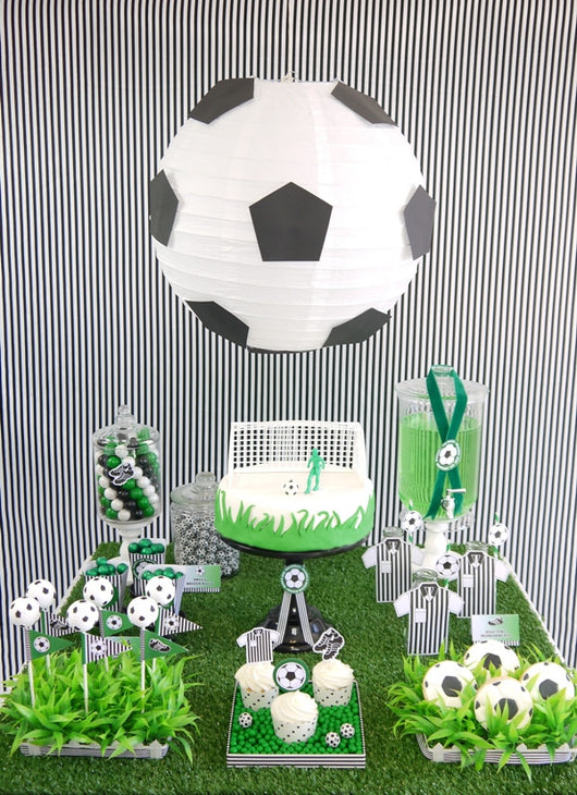 Soccer football birthday party printables supplies shop
