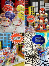 Spider Hero Birthday Party Printables Supplies & Decorations | BirdsParty.com