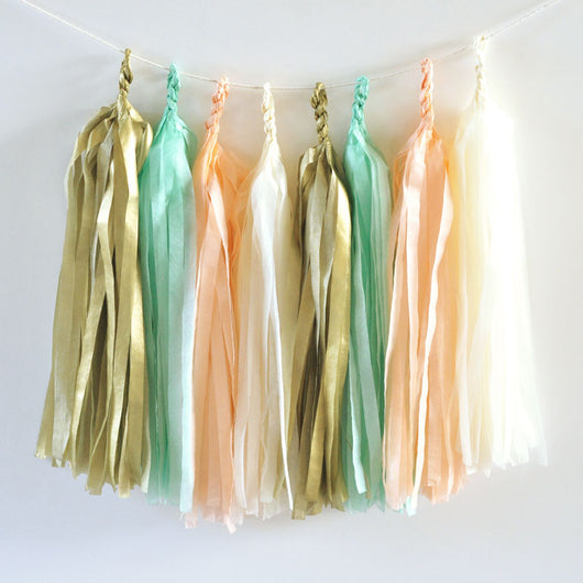 Diy Tassel Garland Kit Set Of 20 Tassels