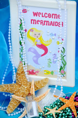Under The Sea Mermaid Birthday Party Printables Supplies & Decorations | BirdsParty.com