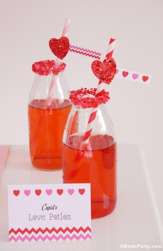 Valentine S Day Hearts Party Printables Supplies