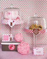 Valentine's Day Sweet Party Printables Supplies & Decorations Kit with Invitations | BirdsParty.com