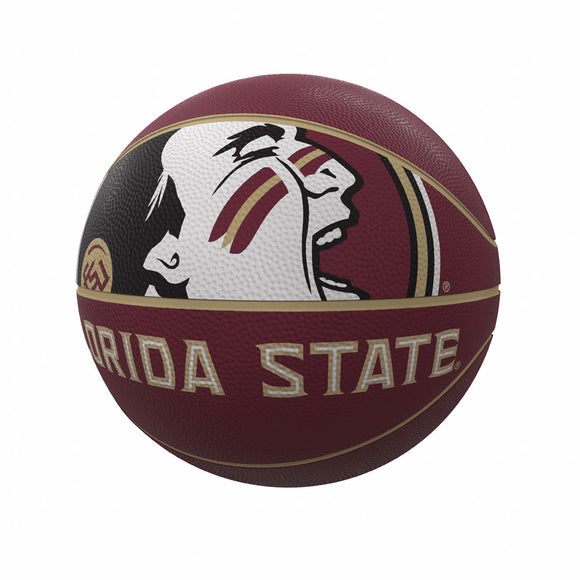 FL State Mascot Official-Size Rubber Basketball