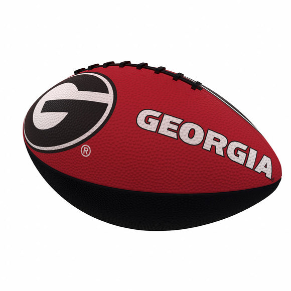 Georgia Combo Logo Junior-Size Rubber Football