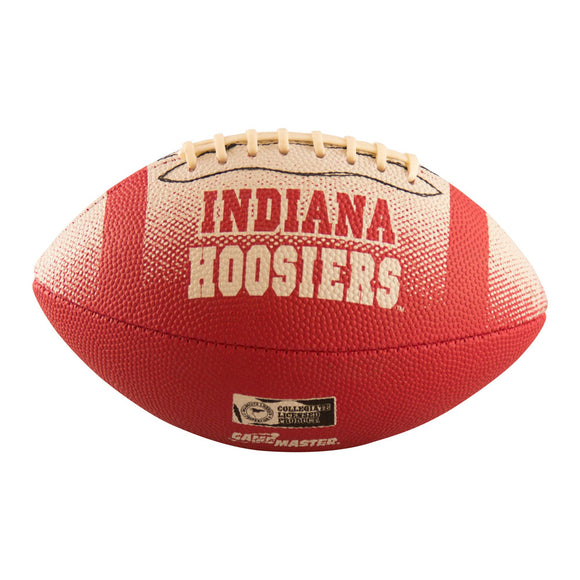 Indiana Mini-Size Rubber Football