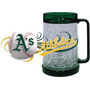 Oakland Athletics Full Color Crystal Freezer Mug - Hunter