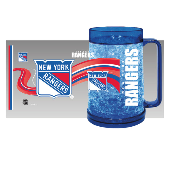 New York Rangers Crystal Freezer Mug - Full Color