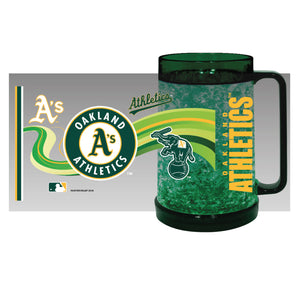 Oakland Athletics Crystal Freezer Mug - Full Color