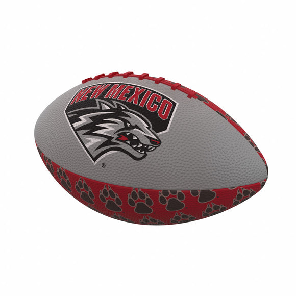 New Mexico Repeating Mini-Size Rubber Football