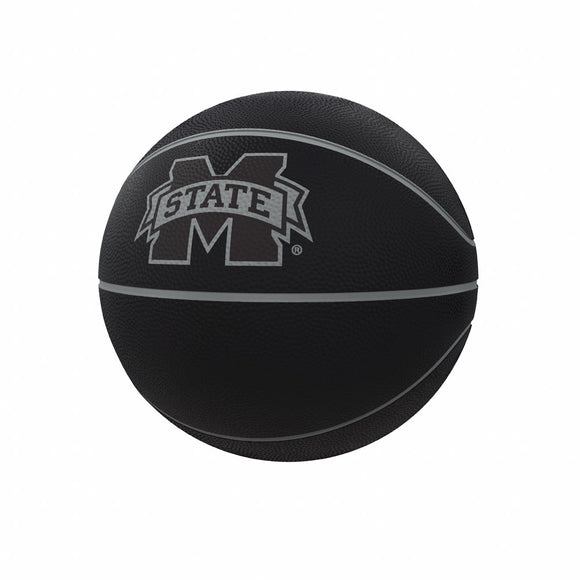Mississippi State Blackout Full-Size Composite Basketball