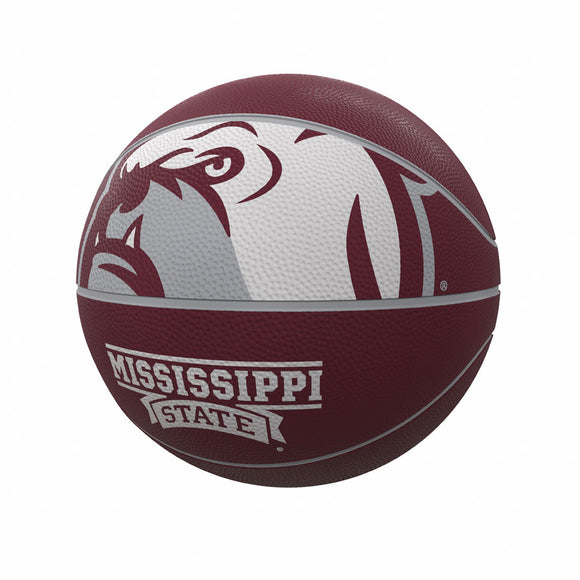 Mississippi State Mascot Official-Size Rubber Basketball