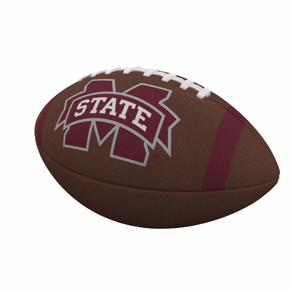 Mississippi State Team Stripe Official-Size Composite Football