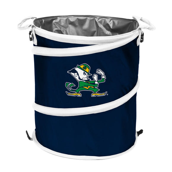 Notre Dame Navy/White Collapsible 3-in-1