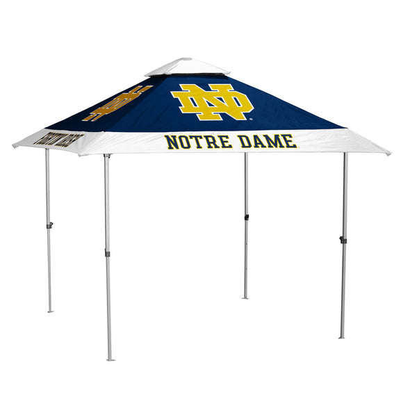 Notre Dame Navy/White Pagoda Canopy (No Lights)
