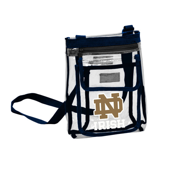 Notre Dame Gameday Clear Crossbody