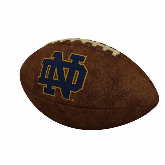 Notre Dame Official-Size Vintage Football