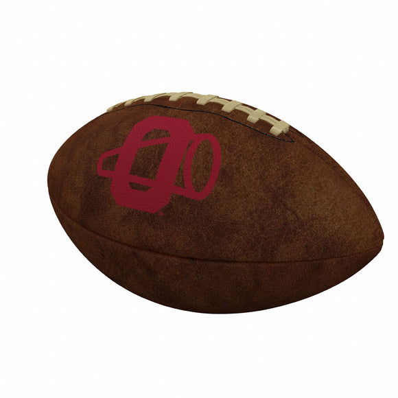 Oklahoma Official-Size Vintage Football