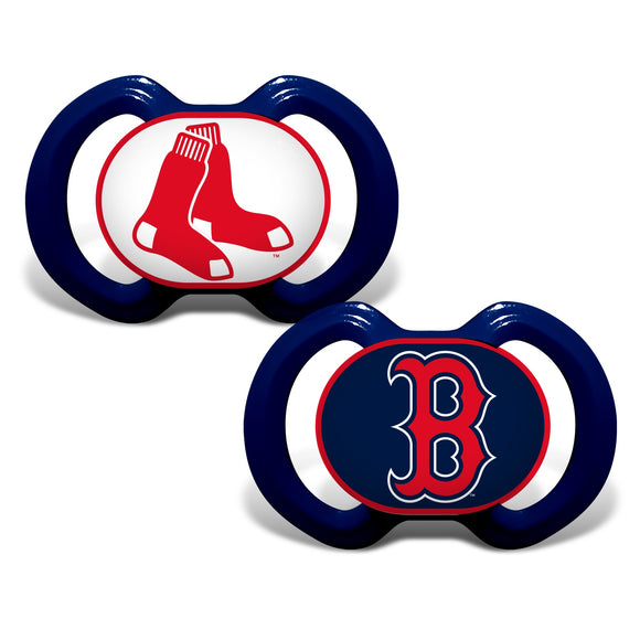 Boston Red Sox Pacifier Pack of 2