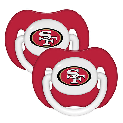 San Francisco 49ers Pacifier - 2 Pack