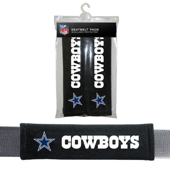 Dallas Cowboys Seat Belt Pads Velour