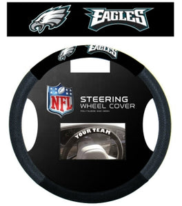 Philadelphia Eagles Steering Wheel Cover - Mesh