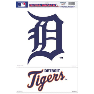 Detroit Tigers Decal 11x17 Multi Use