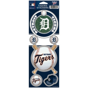 Detroit Tigers Stickers Prismatic