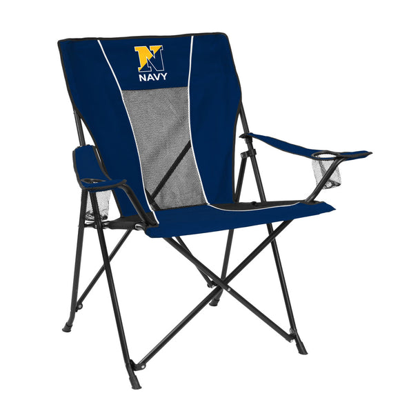Navy Game Time Chair (embroidered)