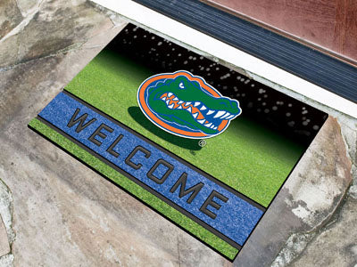 Florida Gators Door Mat 18x30 Welcome Crumb Rubber