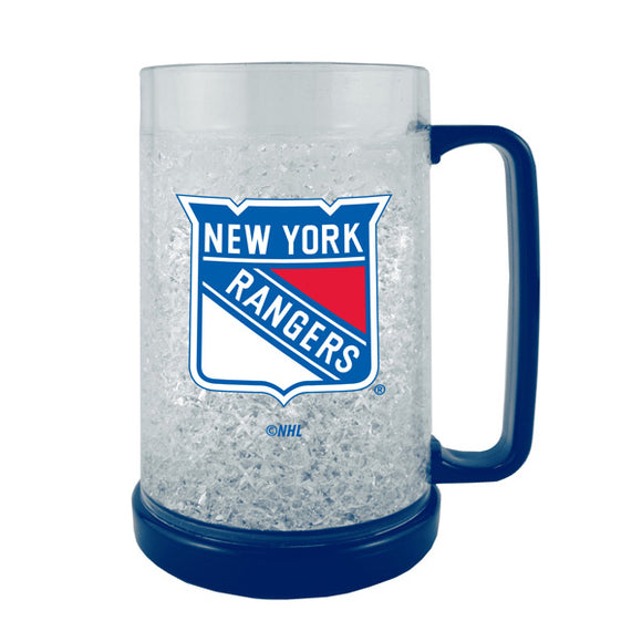 New York Rangers Crystal Freezer Mug