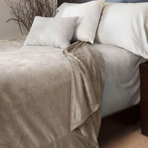 Lavish Home Super Soft Flannel Blanket - Full/Queen - Algoma Retail