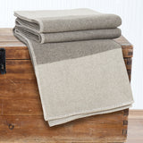 Lavish Home 100% Australian Wool Blanket - Full/Queen - Platinum - Algoma Retail
