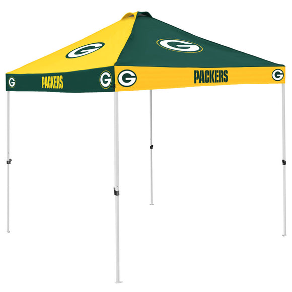 Green Bay Packers Checkerboard Canopy