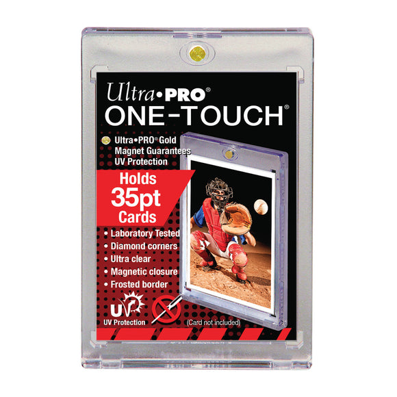 One Touch UV Card Holder with Magnet Closure - 35pt