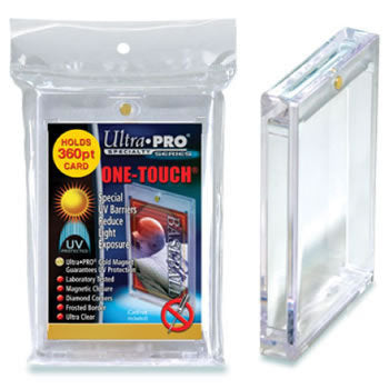 One Touch UV Card Holder with Magnet Closure - 360pt