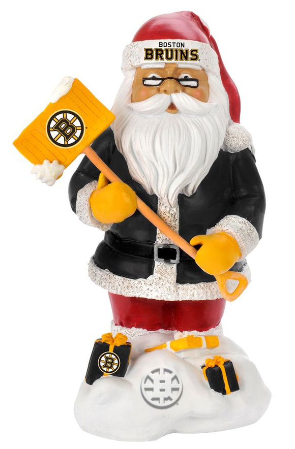 Boston Bruins Garden Gnome - Thematic Santa