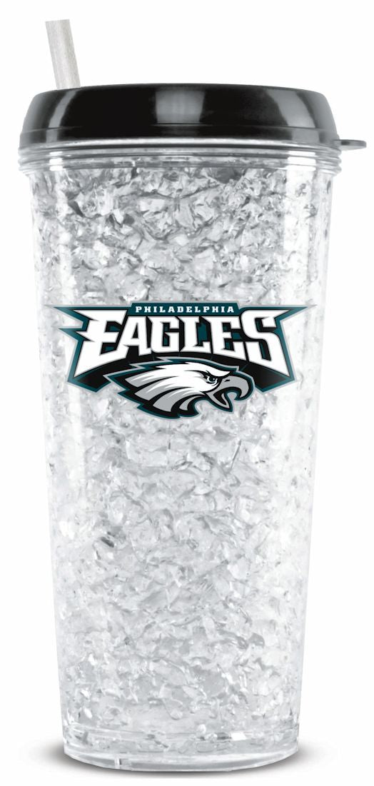 Philadelphia Eagles Crystal Freezer Tumbler