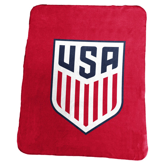USSF No Stars Red Classic Fleece