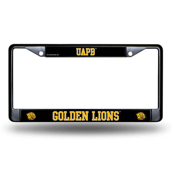 ARKANSAS PINE BLUFF BLACK CHROME FRAME