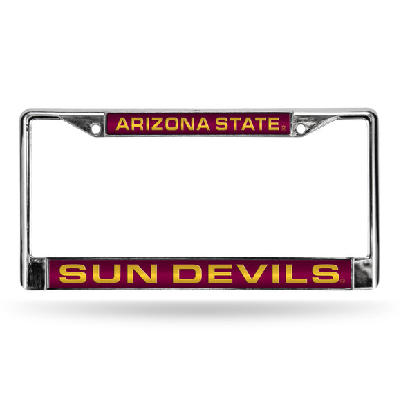 ARIZONA ST RED LASER CHROME FRAME