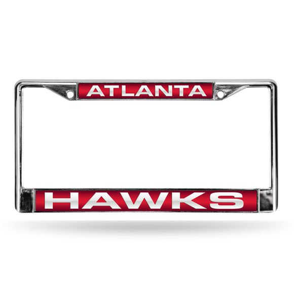 ATLANTA HAWKS LASER CHROME FRAME