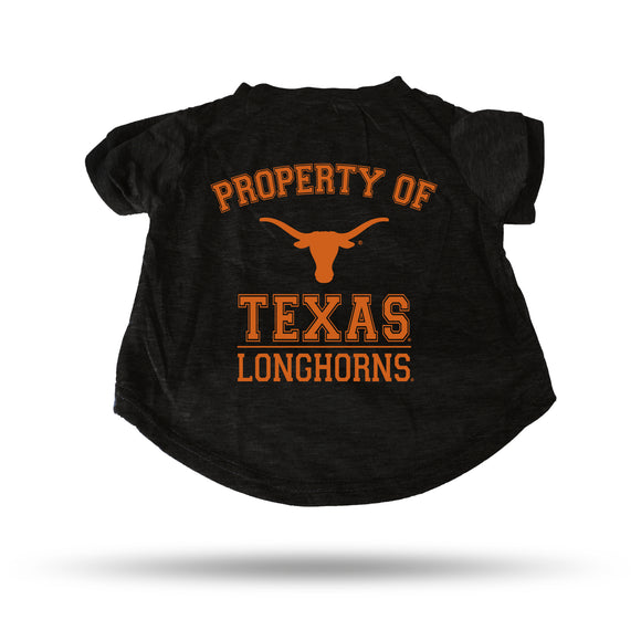 TEXAS BLACK PET T-SHIRT - SMALL