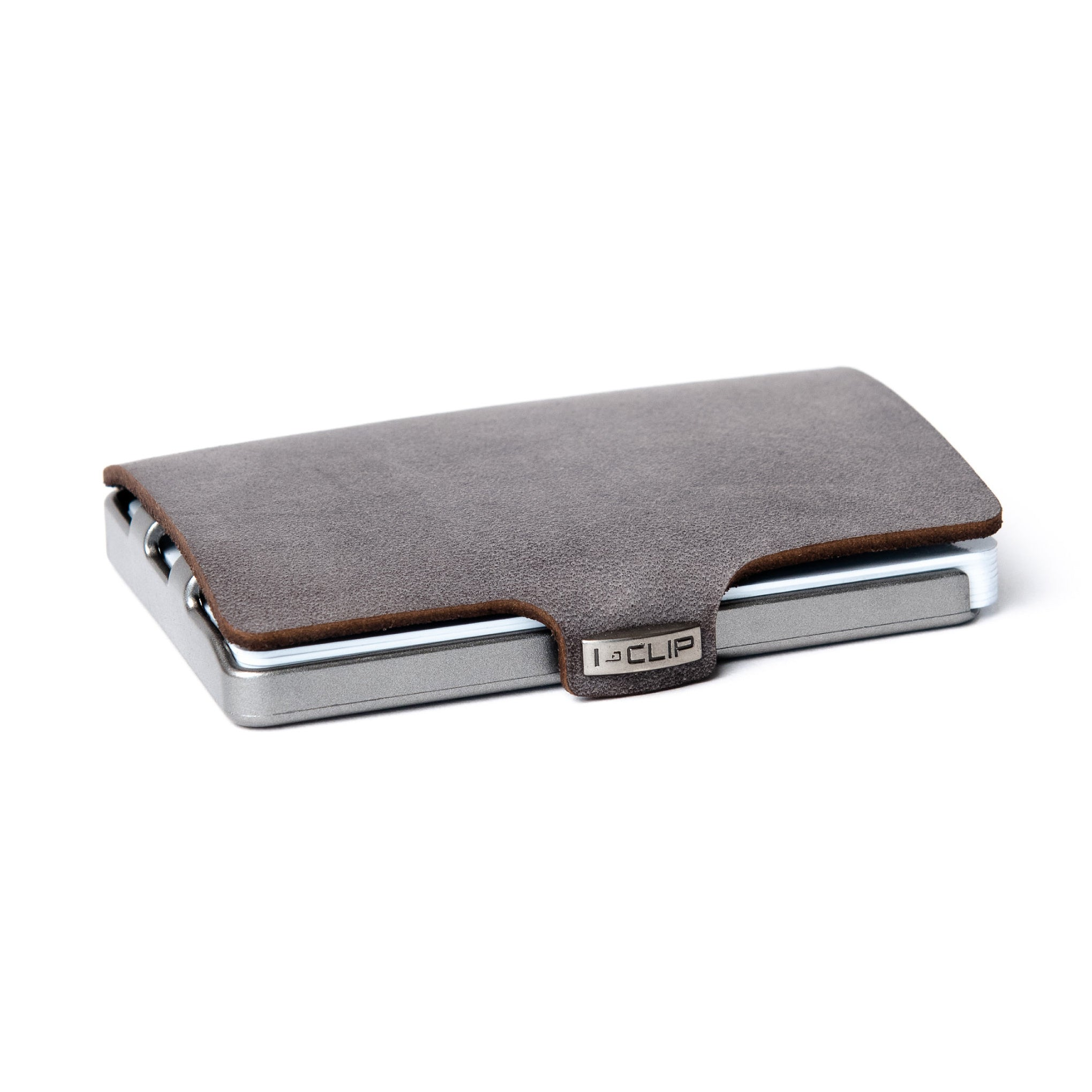 Soft Touch Leather - Slate / Metallic Gray Frame - I-CLIP
