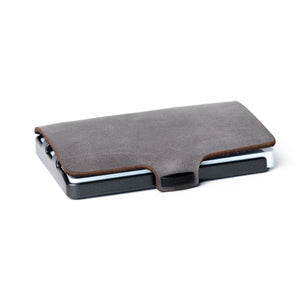 Soft Touch Leather - Slate / Gunmetal Black Frame - I-CLIP