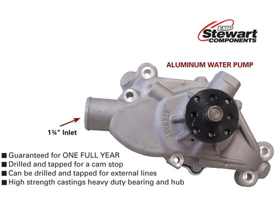 "Stewart Stage 3 Water Pump - Short - 3/4"" Shaft"
