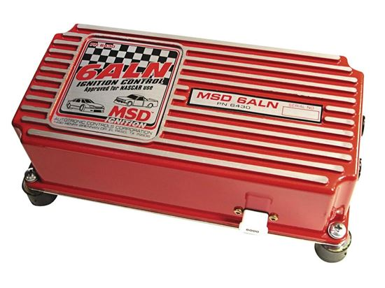 MSD 6ALN IGNITION BOX - WITH REV LIMITER - NASCAR APPROVED