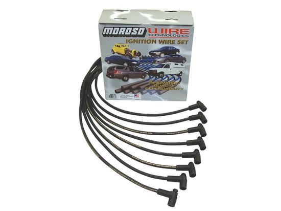 Moroso SBC Plug Wires 90 Degree