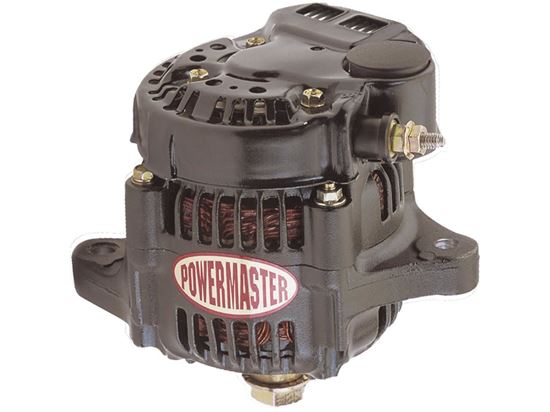 Powermaster Alternator 93mm - 55A 1 Wire 12 Volt